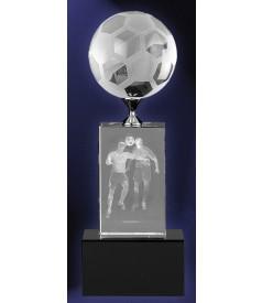 Trofeo Cristal Fútbol 3d