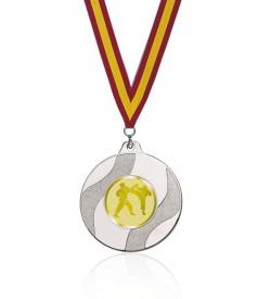 Medalla Económica plateada