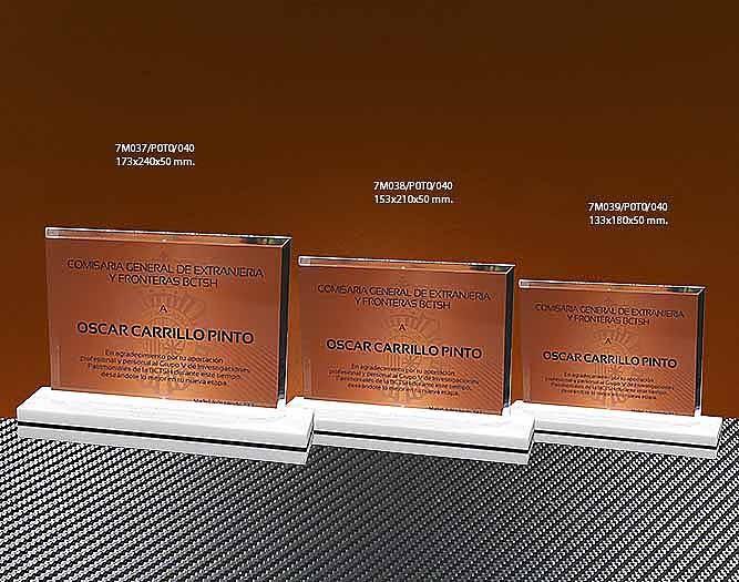 Trofeo Metacrilato