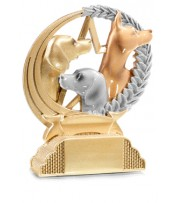 Trofeo Resina Perros