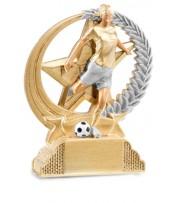 Trofeo Resina Fútbol femenino