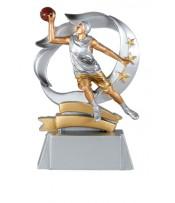 Trofeo Resina Jugador Baloncesto