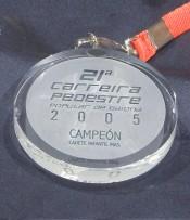Medalla Cristal Personalizada