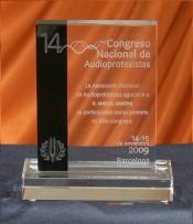 Trofeo Cristal Personalizado