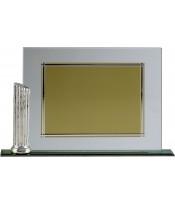 Placa Homenaje Aluminio