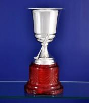 Copa Artesanal de Golf con baño de plata